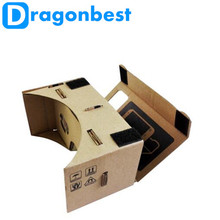 Google Cardboard 3D VR Glasses Virtual Reality Goggles  DK2 for iPhone 6 Plus 4.7 ~ 5.5 inch Android & iOS Smartphone