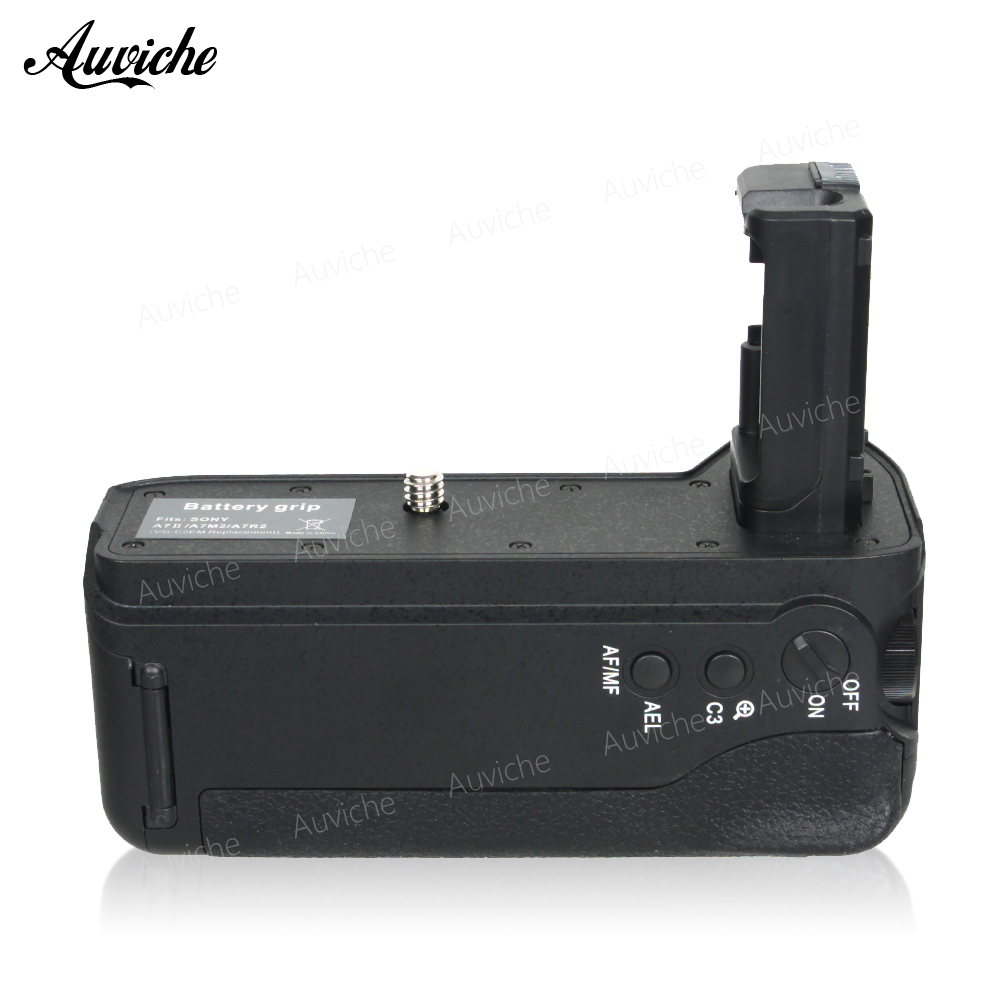 Vertical Battery Grip VG-C2EM for two NP-FW50 battery For SONY A7II/A7M2/A7R2 Camera np f960 f970 6600mah battery for np f930 f950 f330 f550 f570 f750 f770 sony camera