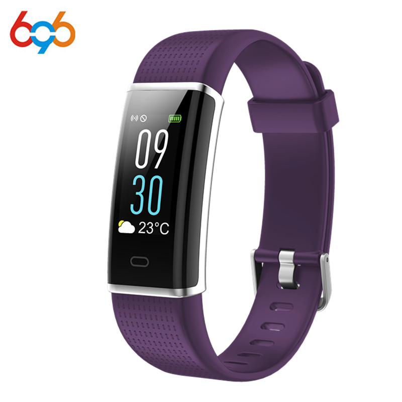 696 Wristbands Smart Band ID130C with Heart Rate Monitor Fitness Bracelet <font><b>IP67</b></font> Waterproof Bluetooth for IOS Android <font><b>Phone</b></font> vs DB0