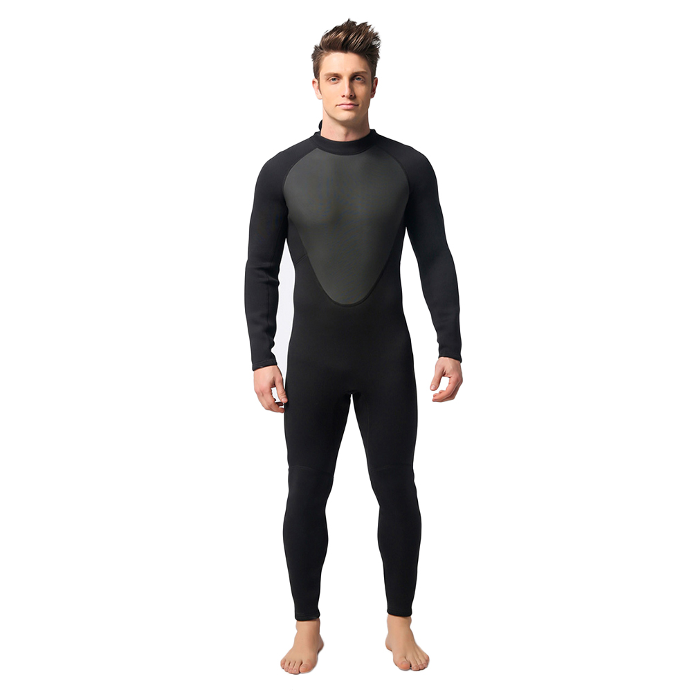 Swimwear Professional Diving suit Men's 3mm Neoprene Full Body Diving Swimming Clothes swimsuit surf Scuba Dive Wetsuit 5 sizes