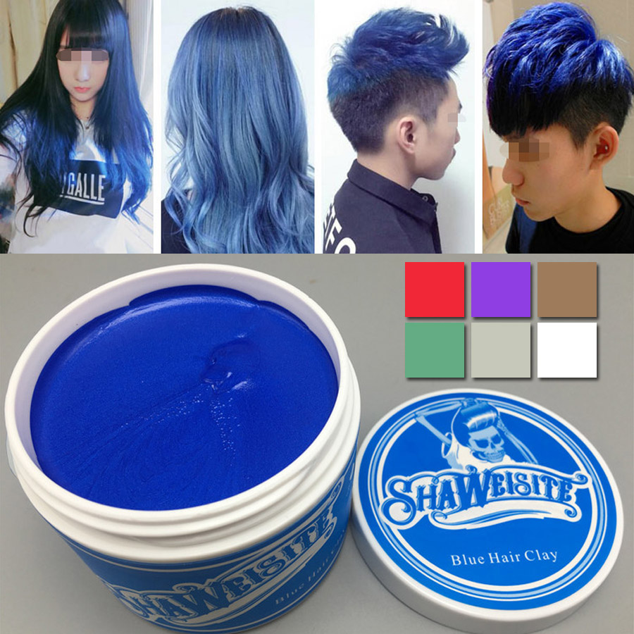 Pomade Suavecito Color Wax Clay Blue Daftar Harga 15gram 1 Piece Original Hair Coloring Styling Mud Gray Purple Green