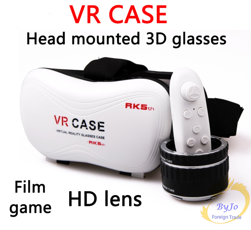 VR-BOX VR case With Gamepad 3D virtual reality glasses mobile home theater VR Glasses Google Cardboard VR box