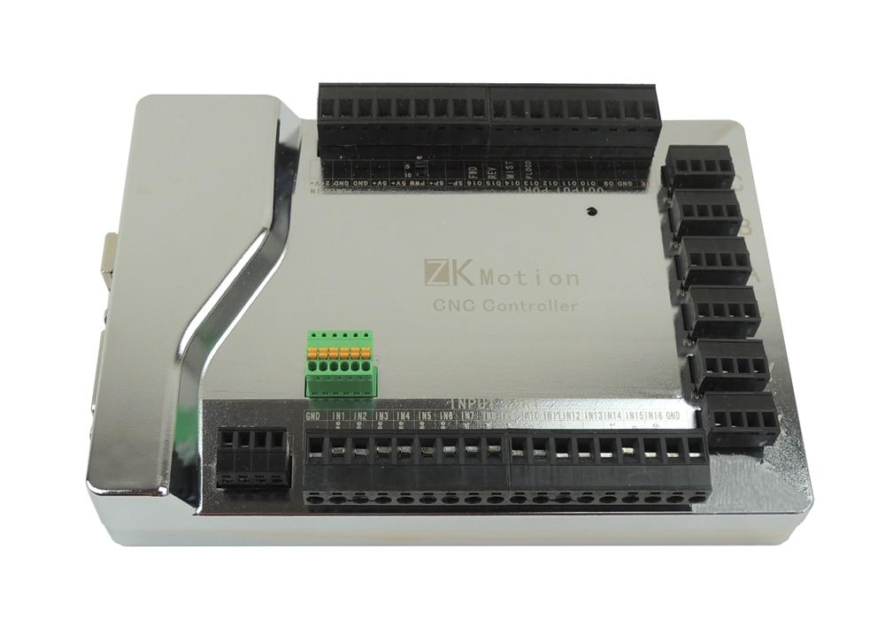 MACH3 USB 6 Axis Stepper Motion CNC Controller Card Breakout Board ...