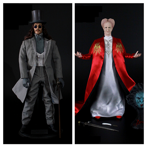 REDMAN TOYS Vampire RM032 Dracula Red Robe RM033 Dracula Blue Collection Action Figure