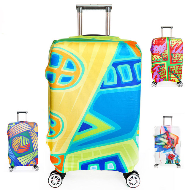 """Plus Size S/M/L/XL Thick Elastic Suitcase Luggages Protective Cover Apply to 18""""~32"""" Traveling Case, Travel Accessories"""