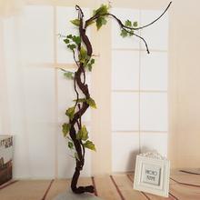 Красивые декоративные искусственные деревья длинные мягкие пластиковые сушеные ветки дерева завод Свадебный домашний декор моделирование спираль лоза