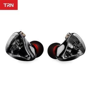 Image 4 - TRN IM2 1BA + 1DD Hibrid Kulak Kulaklık Koşu Spor Kulaklık DJ HIFI Kulaklık Özel Kulaklık Ayrılabilir Ayırmak 2Pin kablo