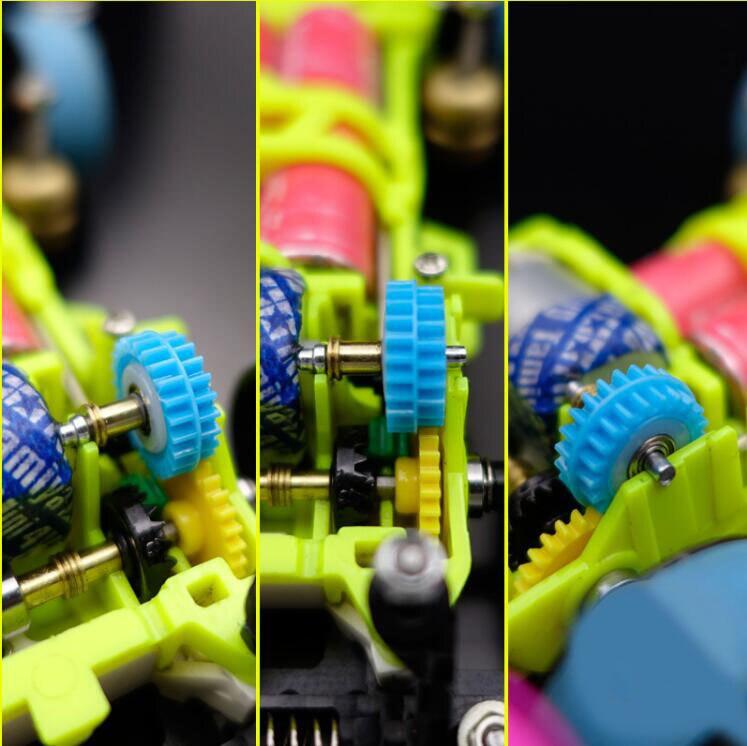 2 Наборы для ухода за кожей 15432 сзади драйвер Шестерни 15357 с 520 Подшипники 3.5: 1 Шестерни шестерни для S2/ar/VS шасси Tamiya мини 4WD модель автомобиля