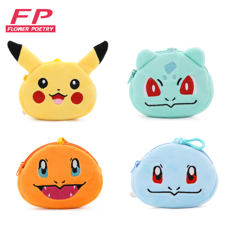 Cartoon Mini Kawaii Purse Wallet Women Plush Coin Purse Women Change Bag Lady Children Wallets Pouch Girls monedero cremallera