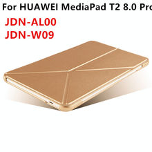 Case For Huawei MediaPad T2 8 Pro Smart cover Faux Leather Protective For HUAWEI Honor Tablet 2 JDN-W09 JDN-AL00 PU Protector