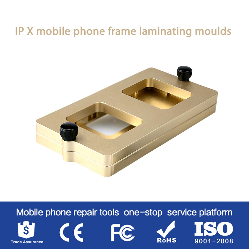 High Quality Profession Frame Mould For Iphone X XS XSMAX XR  Frame Laminating Moulds Glass Frame Cold Glue Holding Mold SS-037