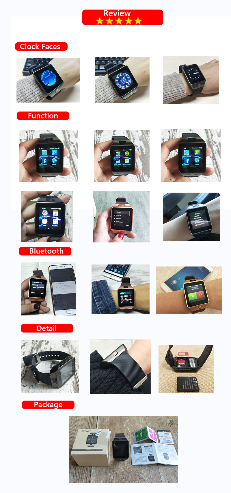 HTB1tBqhXizxK1RkSnaVq6xn9VXaz - Stylish Smartwatch with Bluetooth SIM TF Card Slot and Camera