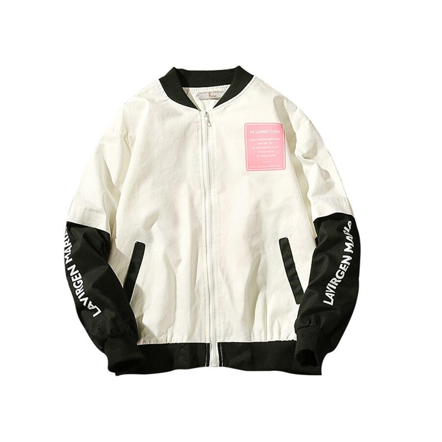 7546573be734 Baseball Anorak Bomber Jacket Solid Hoodies Windbreaker Hip Hop Mens  Clothing 2018 Casual Plus Size 5XL Streetwear Coats