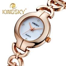 Top Brand Роскошные Часы Моды Случайные Часы Стразами 2015 женская Наручные Часы Кварцевые Ладис Золотая Роза relógio feminino Reloj