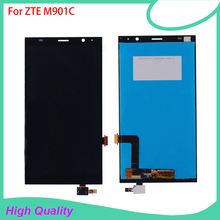LCD Display Touch Screen Digitizer Assembly Replacement For ZTE Grand X Memo II 2 M901C High Quality Mobile Phone LCDs