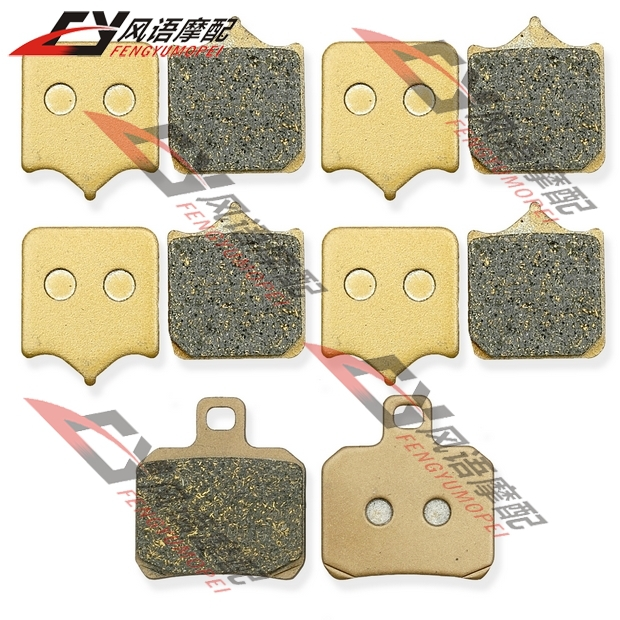 цена на Free Shipping For BJ600GS Benelli 600 Motorcycle front and rear brake pads kit