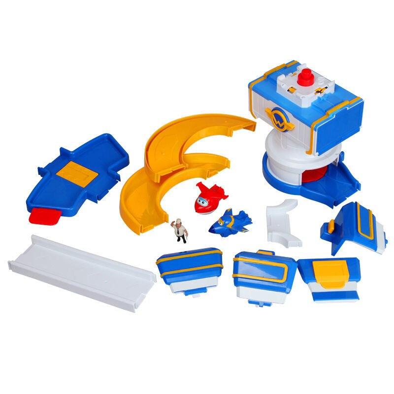 Nowy przyjeżdża ABS Super skrzydła centrum sterowania z samolotami Action Figures transformacja zabawki dla dzieci boże narodzenie prezenty w Figurki i postaci od Zabawki i hobby na  Grupa 3
