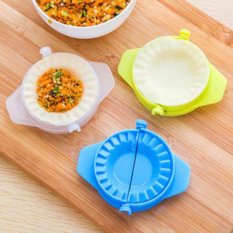 Pierogi narzędzia do modelowania kuchnia magiczny kreatywny ręczny pakiet maszyna spożywcza plastikowa szczypta narzędzia kuchenne 1 sztuka