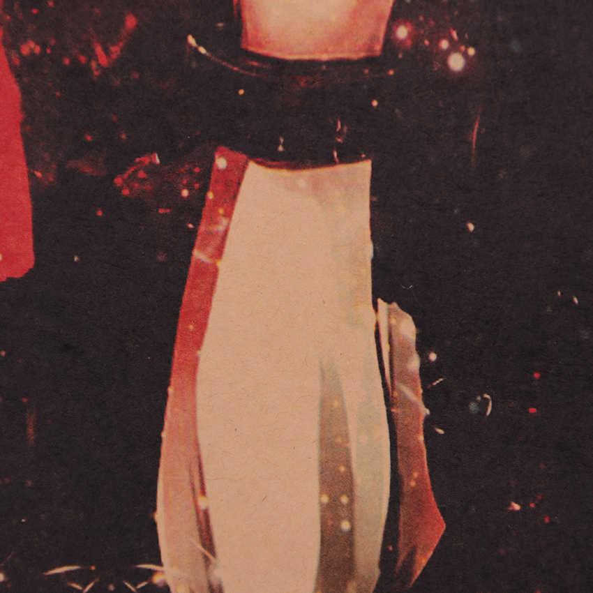TIE LER Klassieke Animatie Tokyo Ghoul Poster Vintage Retro Kraftpapier Muursticker 51.5X36cm