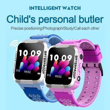 Y38 Children's Smart Phone Watch IP67 Waterproof Voice Chat Two-way Call SOS Emergency Help Positioning Children's Watch