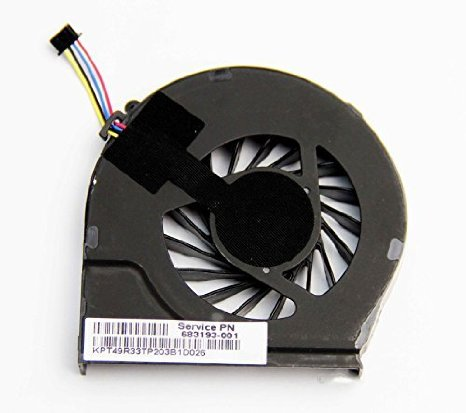SSEA New Laptop CPU Cooling Fan for HP G4-2000 G6-2000 G7-2240US G7-2000 P/N <font><b>683193</b></font> - <font><b>001</b></font> FAR3300EPA image