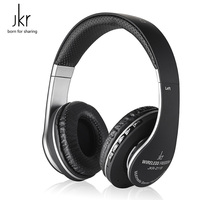 Original JKR 211B Bluetooth Headset Wireless Earphone Stereo Music with Micophone Bluetooth Headphone Support FM Radio