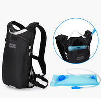 ROCK BIKER Motorcycle Bags Motorcycle Backpack Waterproof Top Case Moto Bag Motorbiker Water Bags Racing Cycling Black Luggage