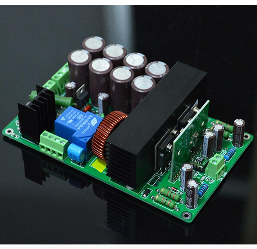 HIFI High Power IRS2092+IRFB4227 Class D Mono Digital power amplifier board 1000W Stage power amplifier board