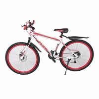 26 InchX17 Inch Front And Rear Disc Bike 30 Circle Mountain Bike Variable Speed MTB Road