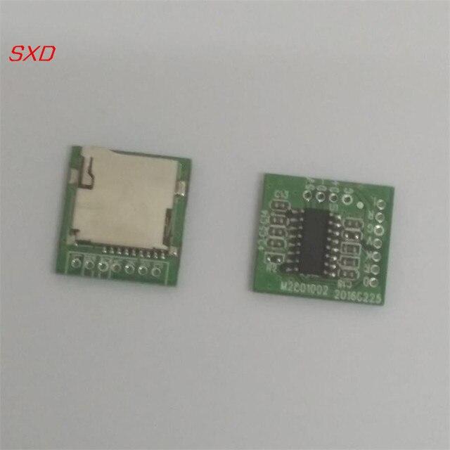 送料無料 100 個 M2801002 ロスレス WAV デコーダボード MP3 デコーダボード mp3 復号モジュール