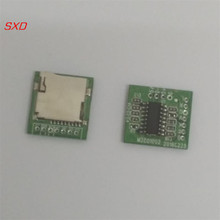 Free Shipping 100PCS  M2801002 lossless WAV decoder board MP3 decoder board mp3 decoding module