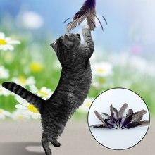5PCS REFILLS for Da Bird feather Wand Home Pet Cat Toy Kitten Interactive Toys