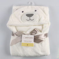 Soft Baby Blankets Baby Kids Bathing Towels Animal Shape Hooded Towel Lovely Baby Bath Towel Baby