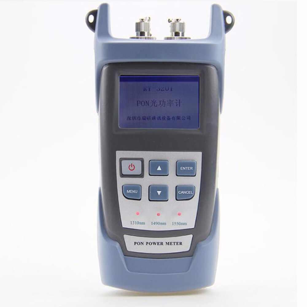 1 Pcs Fiber Optische Power Meter Pon Golflengte 1310 1490 1550nm Glasvezel Goederen