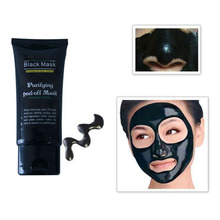50ml Blackhead Remover Deep Cleansing Peel Off Acne Black Mud Face Mask