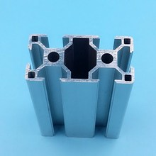 CNC DIY V-Slot 30x60 Linear Rail Aluminum profile 2080 Extrusions 5pcs high tolerance cnc solid v wheel kit for v slot delrin precise linear guide pom v slot wheel with free shipping
