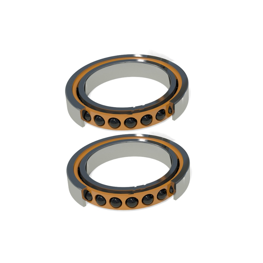 1pair 7005C HQ1 P4A DT DB 25x47x12 Angular Contact Bearings Speed Spindle Bearings CNC ABEC-7 SI3N4 Ceramic Ball High Speed 1pcs 71822 71822cd p4 7822 110x140x16 mochu thin walled miniature angular contact bearings speed spindle bearings cnc abec 7