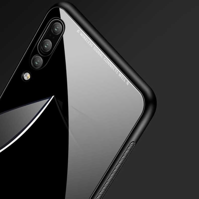 Dégradé Téléphone étui pour Samsung Galaxy A50 A30 S10 Plus A10 Note 10 Verre Trempé Pour Samsung J6 Plus J6Plus 10S 50 S 10