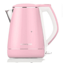220V 1.5L Stainless Steel Heat Preservation And Anti-burning Electric Kettle Blue&Pink
