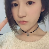 New Fashion Silver Floral Charms Necklace Harajuku Trendy Black Choker Korean and Japan Style 5pcs/ Lot