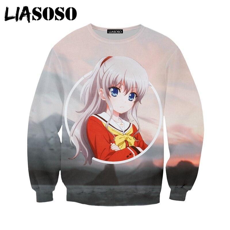 LIASOSO Fashion Jumper 3D Print Creative Ahegao 2018 Sweatshirt Casual Long Sleeve Hoodies Pocket Pullover For Men Women Y346