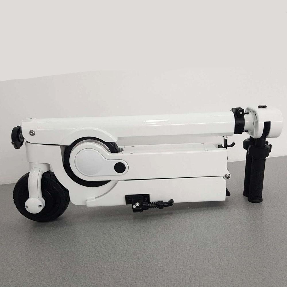 Stetig Klapp Neue Design 24 V 300 W 25 Km/h Solide Reifen Tasche Batterie Powered Elektrische Skateboard Kick Skateboard Sport & Unterhaltung