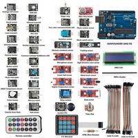 New Product UNO R3 Basic Starter Learning 37X Sensor Module Board Kit For Arduino Electronics Stocks