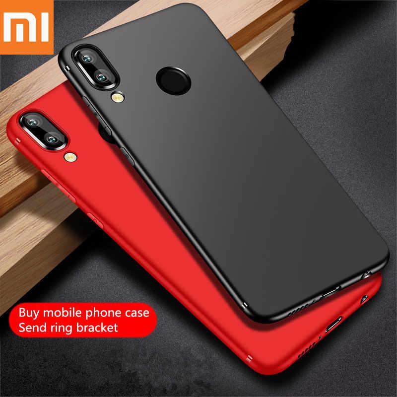 Xiao mi case Red mi case mi 9 case для mi 8 9 se lite Red mi 5 6 7 Pro mi x 2S 3 Max 3 ультра-тонкий-скраб-Новый-ТПУ удобный чехол Coque.