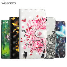 Leather Flip Case For Huawei P20 Lite Pro Y3 Y5 Y6 Y9 2018 2017 Wallet Stand