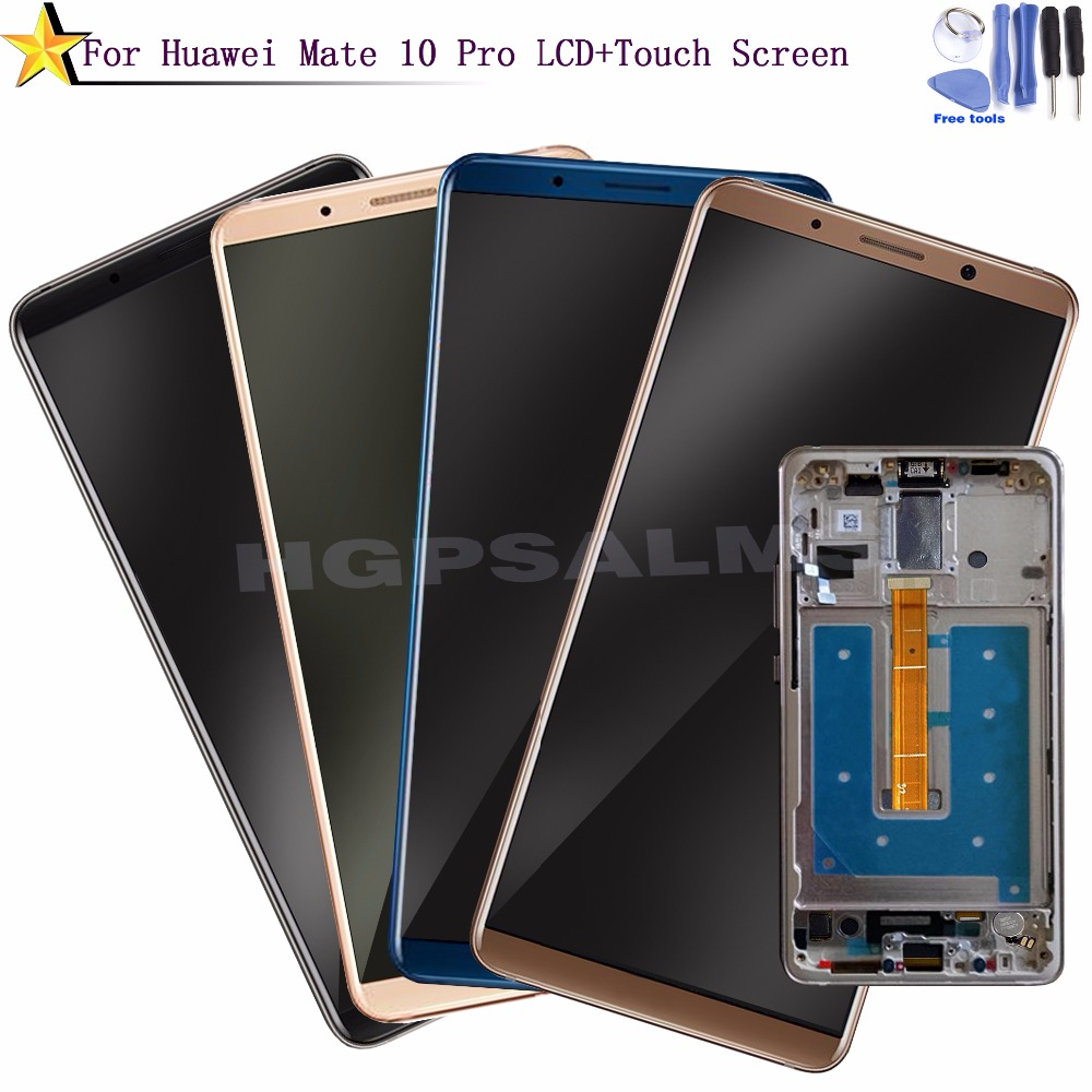 HW086 For Huawei Mate 10 Pro LCD Display Touch Screen Digitizer Assembly With Frame Replacement For 6.0 Inch Huawei Mate 10 Pro (5)