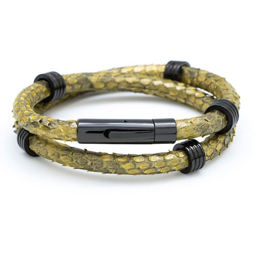 Natural Python Skin Bracelet Jewelry for Mens Python Leather Bracelet Bangle Fit Brand Watch Jewelry Bracelet  BL-02998Natural Python Skin Bracelet Jewelry for Mens Python Leather Bracelet Bangle Fit Brand Watch Jewelry Bracelet  BL-02998