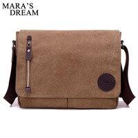 Mara's Dream 2018 New Men's Handbags Multi function Men Crossbody Bag Men Messenger Bags Canvas Shoulder Hand Bags Man Hand Bag