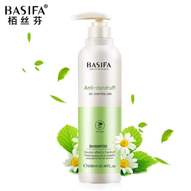 BASIFA Caspa Champú Cuidado Del Cabello cuidado del cabello del cuero cabelludo anticaspa fresca y clara