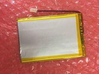 Iç 3000 mah 3.7 V Pil Paketi Için DEXP Ursus NS270/NS170 3G Hit/A169 Irbis TZ709 TZ707 TZ720 3G Tablet Polimer li-ion